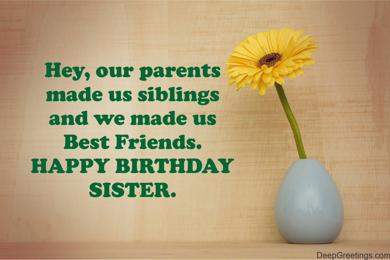 Sister Birthday Wishes Unique Birthday Wishes For Sister