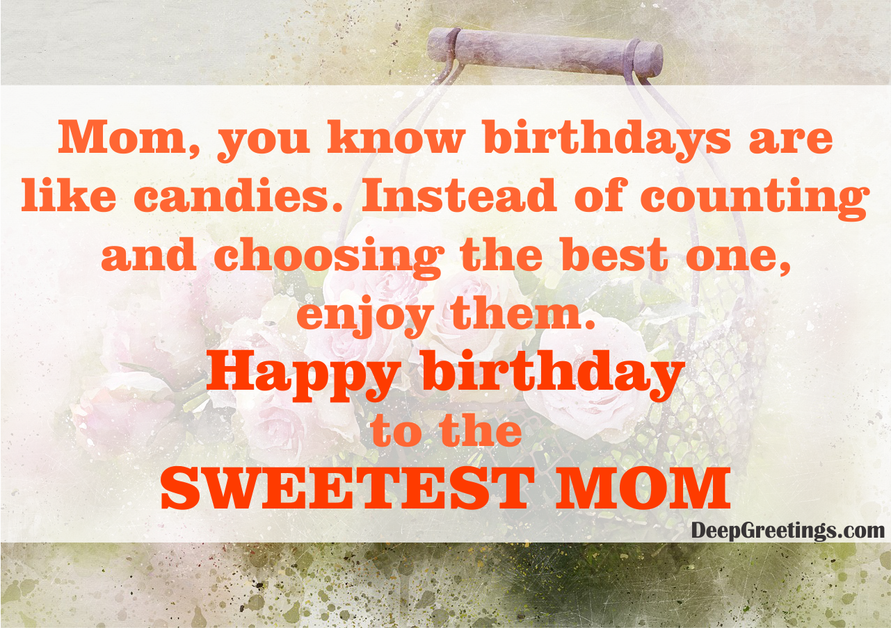Mom Birthday Wishes